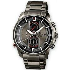 Casio Edifice EFR-533BK-8AVUEF Chronograph Stopwatch Date GunMetal Watch RRP£200