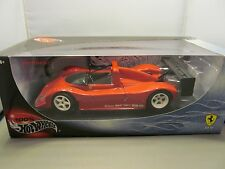 HOT WHEELS 1/18 100% FERRARI 333 SP RACE CAR VERY COOL