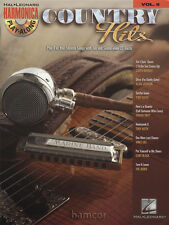 Pays hits harmonica Play-Along vol 6 partitions livre / CD