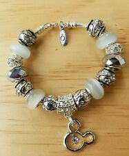 **ON SALE**Authentic Pandora  Mickey Mouse Bracelet Authentic Disney Charms