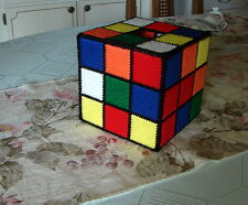 RUBIK'S RUBIX CUBE TISSUE BOX COVER - AUTHENTIC AS SEEN ON BIG BANG THEORY - NEW