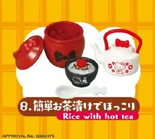 Re-Ment Miniature Sanrio Hello Kitty Relaxation Day # 8 Rice with tea