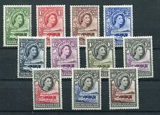 Bechuanaland QEII 1955 definitive issue of 11 SG153//53 MNH