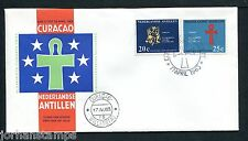 Ned. Antillen FDC E24_ 1M, met adres ; Curacao ;
