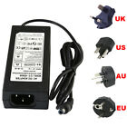 AC/DC 12V 6A Power Supply/Charger/Adaptor US/UK Plug For 3528/5050 Strip Light
