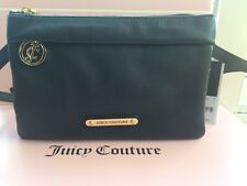 New Juicy Couture Black Leather Crossbody Bag