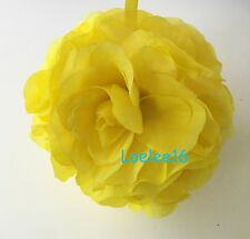 "6"" Flower Kissing Ball Wedding Silk Rose Party Pomander"