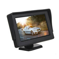 "P 4.3"" TFT LCD Color Car Rearview Rear View Monitor Reverse Backup Camera DVD M2"