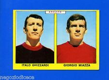 Nuova CALCIATORI PANINI 1966-67 - Figurina-Sticker -GHIZZARDI-MIAZZA -AREZZO-New