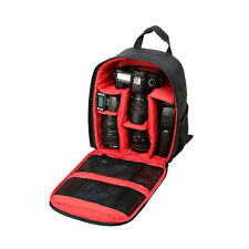Pro DSLR SLR Camera Case Bag Backpack Red for Canon Nikon Sony Olympus Sigma