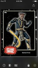 Topps Star Wars Digital Card Trader Black Darts D'Nar Base 4 Variant