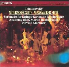 Tchaikovsky: Nutcracker Suite; Serenade for Strings CD 1984 Philips West Germany