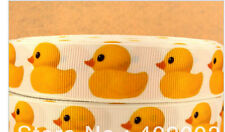 Yellow Rubber Duck Ribbon
