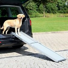 Dog Ramp Car Space Saving Telescopic Helps Anxious Young Old Weak ill dogs