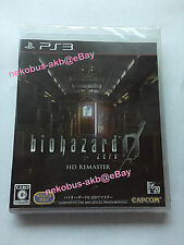 [Brand New] Biohazard 0 Zero HD Remaster - PS3 [MULTI-LANGUAGE] [Japan Import]
