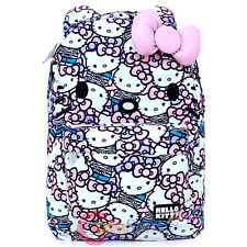 Sanrio Hello Kitty School Backpack 3D Bow Ears Bag Pink Bows Pearls Loungefly