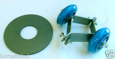 "EasyYaw bearing wind turbine swivel roller kit fits skeleton bracket 1.5"" pipe"