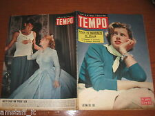 RIVISTA TEMPO 1952/41=LILLI CERASOLI=WALTER CHIARI=HELEN REMY=CHARLIE CHAPLIN=