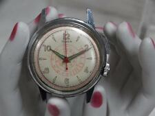 rare Vintage Timex  Mono-Pusher stop Chronograph 35mm Mens WristWatch nr