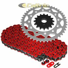 Red O-Ring Drive Chain & Sprocket Kit Fits YAMAHA FZ-6 2009 / FZ-6R 2009-2016