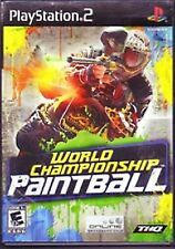 World Championship Paintball NEW factory sealed Sony PlayStation 2 PS2