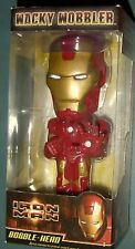 "FUNKO Wacky Wobbler Collection_IRON MAN 7 "" Bobble Head_OfficialMovieMerchandise"