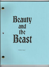 """BEAUTY AND THE BEAST show script """"Chamber Music"""""""