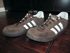 Adidas Brown White Terrazo St Shoes Sneakers Suede Mens 12 Skateboarding Skate