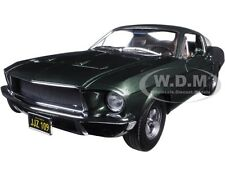 1968 FORD MUSTANG GT BULLITT STEVE MCQUEEN DRIVING FIGURE 1/18 GREENLIGHT 12938