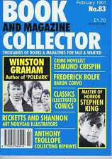 WINSTON GRAHAM / STEPHEN KING / EDMUND CRISPIN Book Collector no. 83 Feb 1991