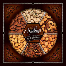 Nuts Gift Tray Cashews, Toffee Peanuts, Pistachios, Almonds, Pecans and Nut Mix