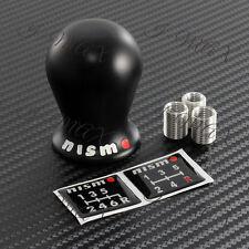 For Nissan NISMO Black Duracon Racing Shift Knob Fits GTR 350Z 370Z SILVIA JUKE