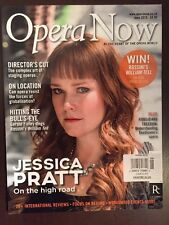 Opera Now Jessica Pratt On Location Finley William Tell June 2015 FREE SHIPPING!