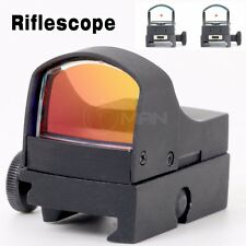 Tactical Mini Red Dot Sight Holographic Reflex Micro 3 MOA w/ Picatinny Weaver