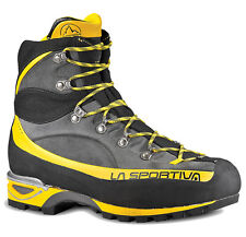 La Sportiva Men Trango Alp Evo GTX Trail Running Hiking Shoe (42) Grey Yellow