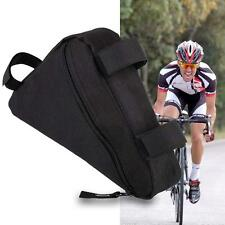 Sports Accessories Bike Cycling Triangle Bag Front Frame Bicycle Pouch Black KJ