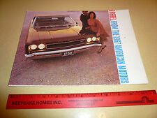 1967 AMC Rambler Rebel Rogue American Sales Brochure  - Vintage