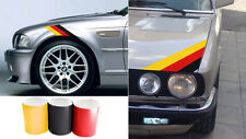 Three Color German FLAG Stripe Hood Decal BMW Motorsport M3 M5 M6 X5 E30 E36 E46