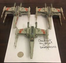 Micro Machines Star Wars Action Fleet  SKYWALKER RED SQUADRON LOT OF 3 X Wings