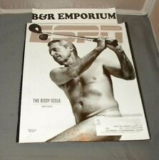 ESPN The Magazine (July 22, 2013) - The Body Issue - Gary Player, John Wall