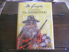 DE GRAZIA AND HIS MOUNTAIN THE SUPERSTITION, SIGNED, 1st artist's proof 1972