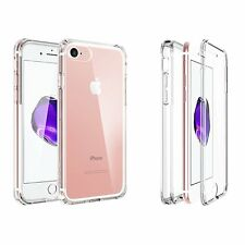 Apple iPhone 7 Plus Shockproof 360° Full Body Front Protective Clear Case Cover