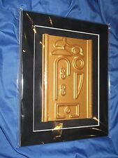 STARGATE SG-1 Original Movie Prop w/COA ~Goa'uld Mothership Egyptian Panel