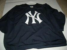 New York Yankees HUGE 2/3X HOCKEY Blue Jersey,CUSTOMIZE $57,GET 2nd Jersey FREE