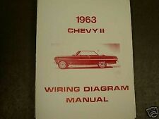 1963 Chevrolet Chevy II Wiring Diagram Manual