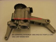 KIA SORENTO HYUNDAI I800 2.5 CRDI D4CB 16V Engine Crankshaft OIL PUMP Brand NEW