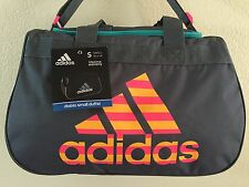 "ADIDAS Diablo Small Duffel Women Solar Pink Gym bag luggage 18.5""x11""x10"""
