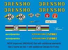 3rensho BICICLETTA decals-transfers-stickers # 2