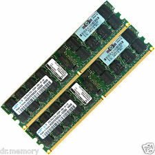 4GB 2x2GB DDR2-667 PC2-5300 5300P ECC Registered 240-pin DIMM Server Memory RAM