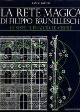 La rete magica di Filippo Brunelleschi. Le seste, il braccio, le misure-Nardini